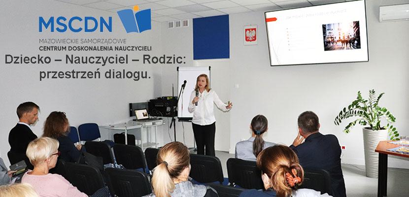 Konferencja MSCDN. Bierze w niej udział płocki psycholog i psychoterapeuta – Aneta Adamkowska z grupy Anteris